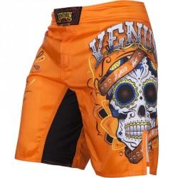 Abverkauf Venum Santa Muerte 2.0 Fightshorts Orange XS