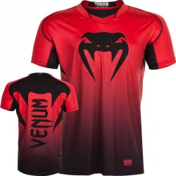 Venum Hurricane X Fit T-Shirt Red Black