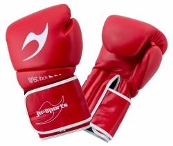 ju- Sports C16 Competitor Boxhandschuhe PU 10 Oz Rot