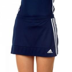 Abverkauf Adidas T16 Climacool Woven Skort Damen Navy Blau Weiss AJ5270