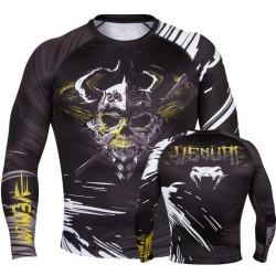 Abverkauf Venum Viking Rashguard LS Black