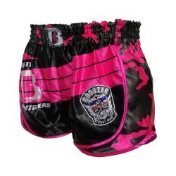 Booster AD Pink Corpus Hybrid Muay Thai Short