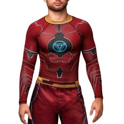 Hayabusa Iron Man Rashguard LS