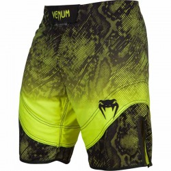Abverkauf Venum Fusion Fight Shorts Black Yellow