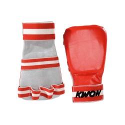 Kwon Competition Karate Handschützer rot