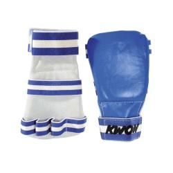 Kwon Competition Karate Handschützer blau