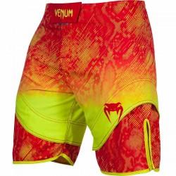 Abverkauf Venum Fusion Fight Shorts Orange Yellow