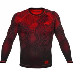 Venum Fusion Compression T-Shirt LS Black Red