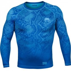 Venum Fusion Compression T-Shirt LS Blue