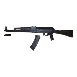 Gewehr Hartgummi AK74 Schwarz