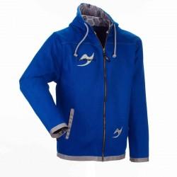 ju- Sports Street Gi Zip Jacke Blau