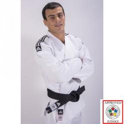 Abverkauf Adidas Slim Fit Champion II IJF Judo Gi Weiss