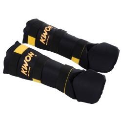 Kwon Muay Thai Schienbeinschutz schwarz