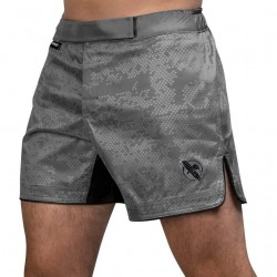 Hayabusa Hex Mid Length Fightshorts Grey