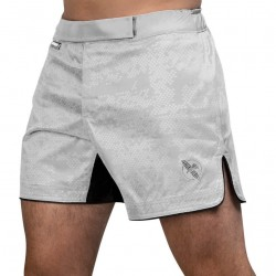 Hayabusa Hex Mid Length Fightshorts White