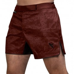 Hayabusa Hex Mid Length Fightshorts Burgundy