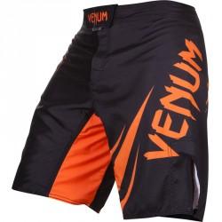 Venum Challenger Fightshorts Black Neo Orange