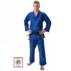 HIKU Slim Fit IJF Judo Gi Blau