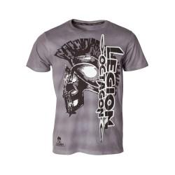 Legion Octagon Fight or Die T-Shirt Grey