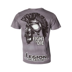 Legion Octagon Fight or Die T-Shirt grau