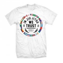 Abverkauf Newaza In Jiu Jitsu The World trusts White T-Shirt