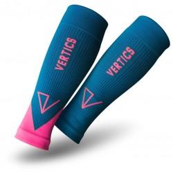 Vertics Sleeves Unterarm Kompressionsstulpen Petrol Pink