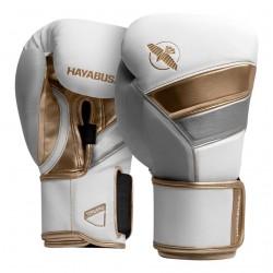 Hayabusa T3 Boxhandschuh White Gold