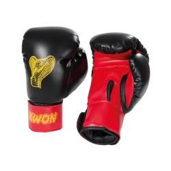 Kwon Kids Cobra 6oz Boxhandschuhe schwarz