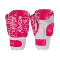 Kwon Kids Neon 6oz Boxhandschuhe pink