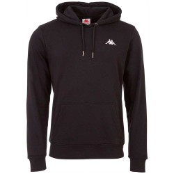 Kappa Authentic Vend Hooded Sweatshirt Caviar