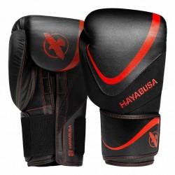 Hayabusa H5 Boxhandschuhe Black Red