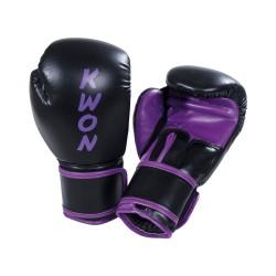 Kwon Training Boxhandschuhe schwarz lila