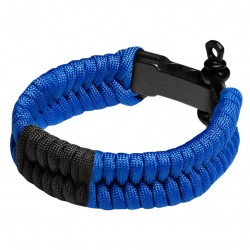 Hayabusa Paracord Jiu Jitsu Bracelet Blue