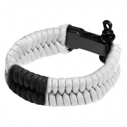 Hayabusa Paracord Jiu Jitsu Bracelet White