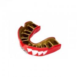 OPRO Zahnschutz PowerFit Aggression Jaws rot gold
