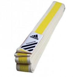 Abverkauf Adidas Club Belt Weiß Gelb