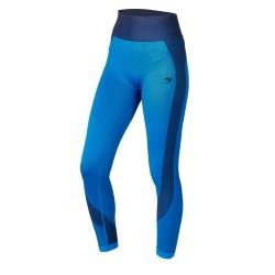 ju-Sports Gym Line Leggins Seamless blau