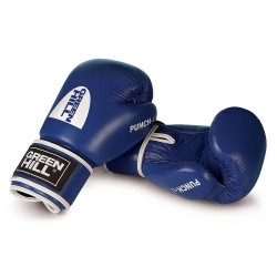 Green Hill Punch II Boxhandschuhe blau Leder