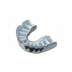OPRO Zahnschutz PowerFit Aggression Jaws silber weiss