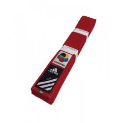 Adidas Elite Gürtel WKF Rot