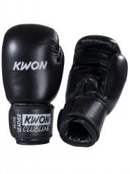 Kwon Pointer 10oz Boxhandschuhe Leder schwarz