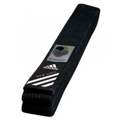 Adidas Elite Gürtel WKF Schwarz