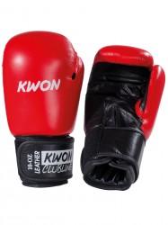Kwon Pointer 10oz Boxhandschuhe Leder rot