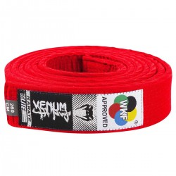 Venum Karate Belt Red