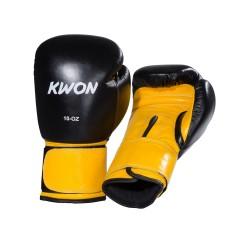 Kwon Knocking Boxhandschuhe schwarz gelb