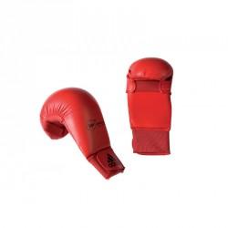 Abverkauf Adidas Kumite Karate Faustschutz WKF Rot
