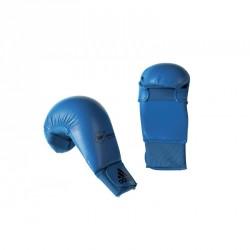 Adidas Kumite Karate Faustschutz WKF Blau