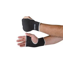 Kwon Innenhandschuhe mit Polsterung schwarz