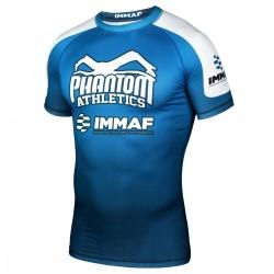 Phantom  IMMAF Rashguard Blue White