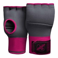 Hayabusa Quick Gel Handwraps Grey Pink